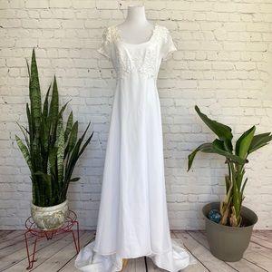 Eden Bridals Pearl Embellished Wedding Dress